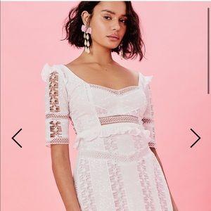 NWT For love and lemons amandine dress